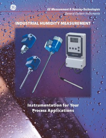 industrial humidity measurement