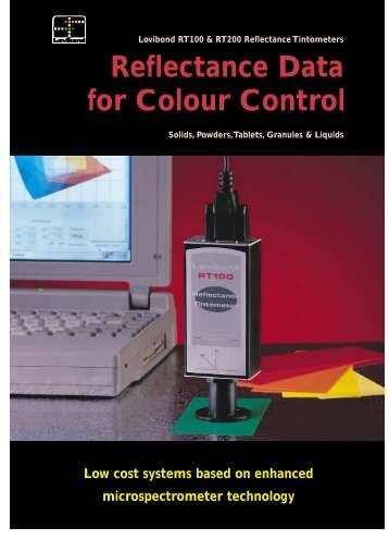 Reflectance Data for Colour Control