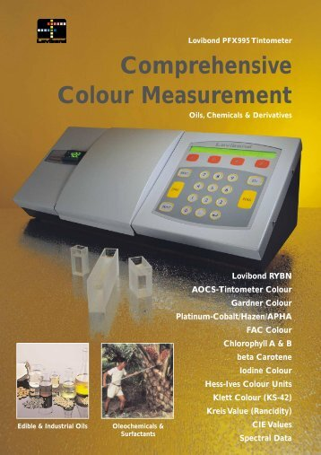 Comprehensive Colour Measurement