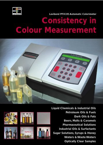 Consistency in Colour Measurement