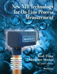 New NIR Technology for On-Line Process Measurement - Anisol