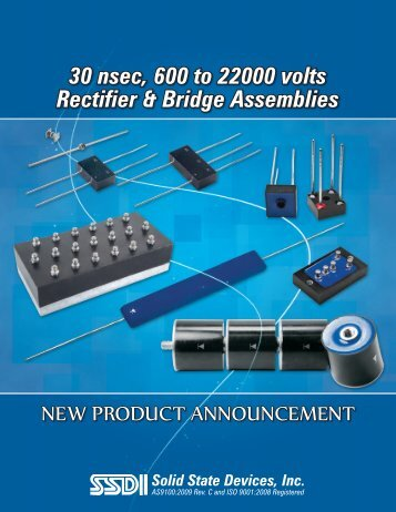 30_nsec_Rectifier_& Bridge_Assemblies_(~1.7MB) - Solid State ...