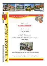 Altpapier- und Altkleider- Sammlung - Gemeinde Deizisau
