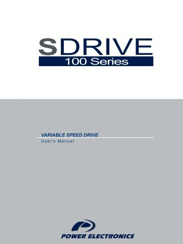 VARIABLE SPEED DRIVE - ssdservice.pl