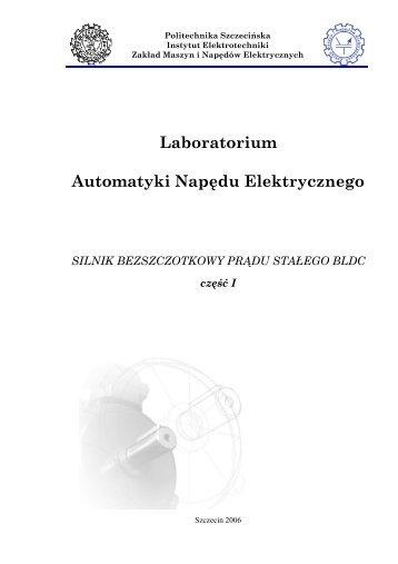 Laboratorium Automatyki Napędu Elektrycznego - ssdservice.pl
