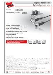 Magnetische-Sensoren Zylinder-Sensoren 15...
