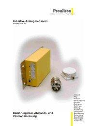 Induktive Analog-Sensoren Berührungslose Abstands- und ...