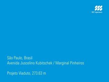 São Paulo, Brasil Avenida Juscelino Kubitschek / Marginal ...