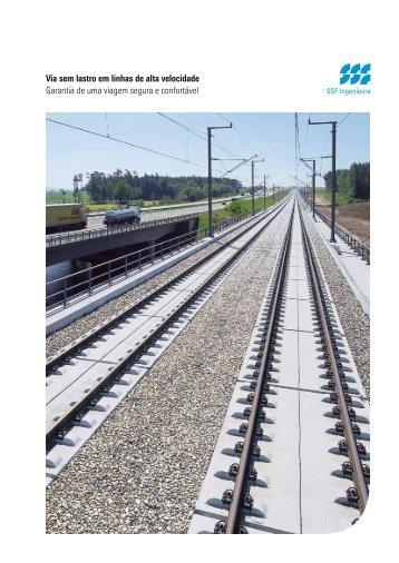 Via sem lastro em linhas de alta velocidade ... - SSF Ingenieure
