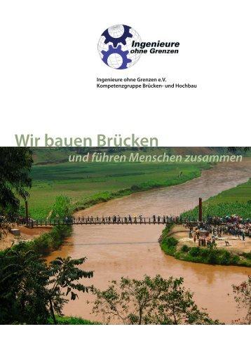 Infomaterial - Kompetenzgruppe Brücken- und Hochbau
