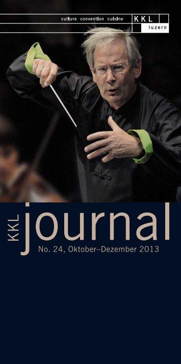 Oktober - Dezember 2013, Teil 1 - KKL Luzern