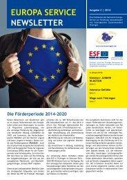 EUROPA SERVICE NEWSLETTER