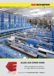 Kapitel A – Hauptkatalog 2010/1 - SSI Schäfer