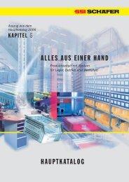 Materialbereitstell-/Kolli-Durchlaufregale - SSI-Schaefer