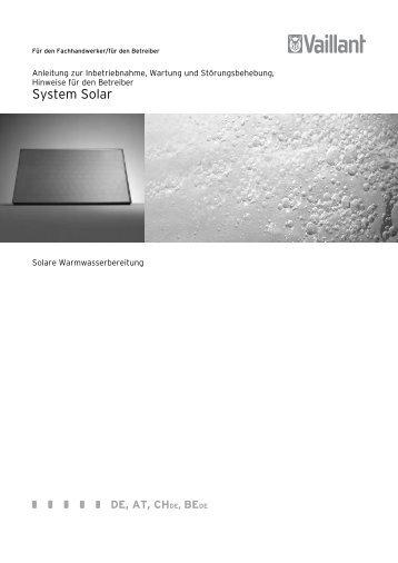 7. Anschlussplan- für SOLAR-DIREKT-SYSTEM - Esomatic