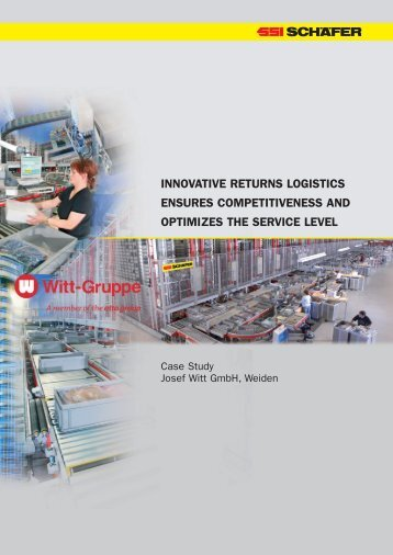 innovative returns logistics ensures competitiveness and optimizes ...