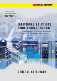 Chapter E – General Catalogue, english - SSI Schäfer
