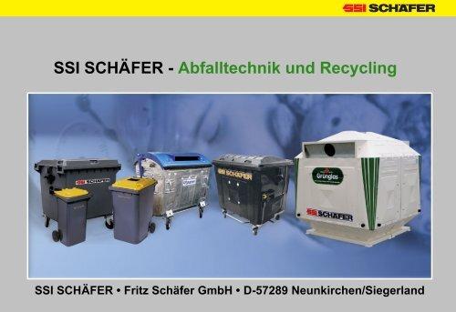 SSI SCHÄFER - Abfalltechnik und Recycling