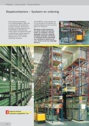 Magazijn- / orderverzamel- / transportbakken - SSI Schäfer