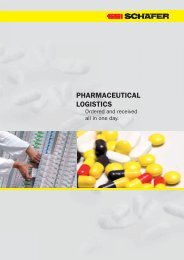 PHARMACEUTICAL LOGISTICS - SSI Schäfer