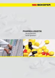 PHARMA-LOGISTIK - SSI Schäfer