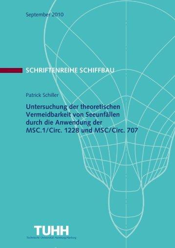 Patrick Schiller Diplomarbeit - Institut für Entwerfen von Schiffen und ...