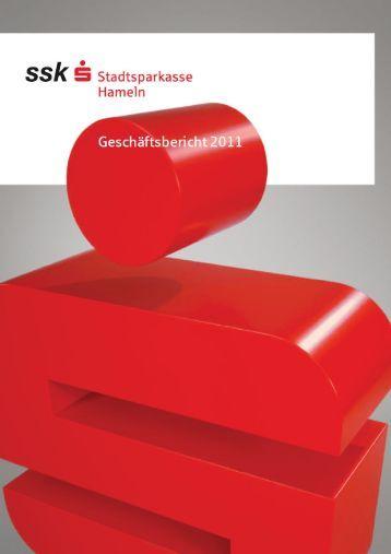 Geschäftsbericht 2011 - Stadtsparkasse Hameln