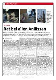 rat bei allen anlässen - Stadtsparkasse Düsseldorf