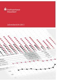 Jahresbericht 2011 - Stadtsparkasse Düsseldorf