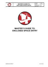 MASTER`S GUIDE TO: ENCLOSED SPACE ENTRY