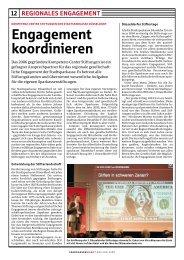 Engagement koordinieren - Stadtsparkasse Düsseldorf