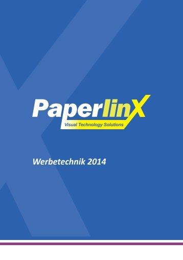 PPX Katalog Werbetechnik 2014/2015