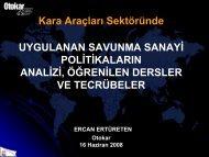 Ercan ERTÜRETEN - Savunma Sanayii Müsteşarlığı