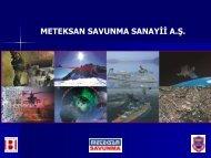 meteksan - Savunma Sanayii Müsteşarlığı