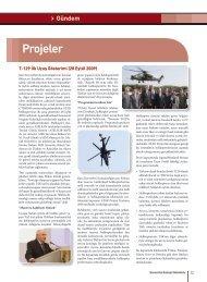 Projeler - Savunma Sanayii Müsteşarlığı