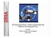OSSA, Yerli Sanayiye Dayalı Lojistik Uygulamalarında KOBİ ve Yan ...