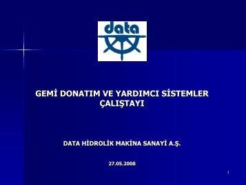 Data Hidrolik Makina Sanayi A.Ş.