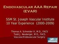 (AAA) Repair - SSM Health Care St. Louis