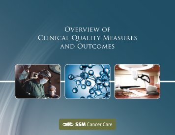 Clinical Quality Measures Report - SSM Health Care St. Louis