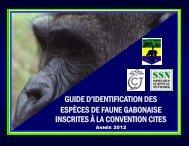 guide d'identification des espèces de faune gabonaise inscrites à la ...