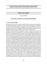 Fra storia e memoria, nel mondo delle farfalle - Società per gli Studi ...