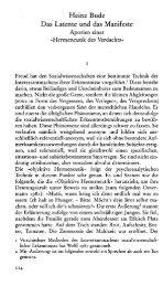 Heinz Bude Das Latente und das Manifeste - SSOAR