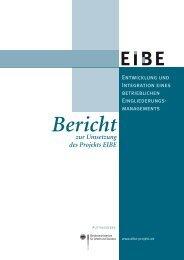 EIBE - Bundesministerium für Arbeit und Soziales