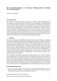 Die Geschlechterdimension von Weblogs ... - SSOAR