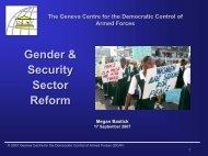 Gender & SSR