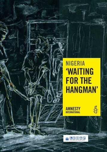 Waiting for the Hangman - Amnesty International