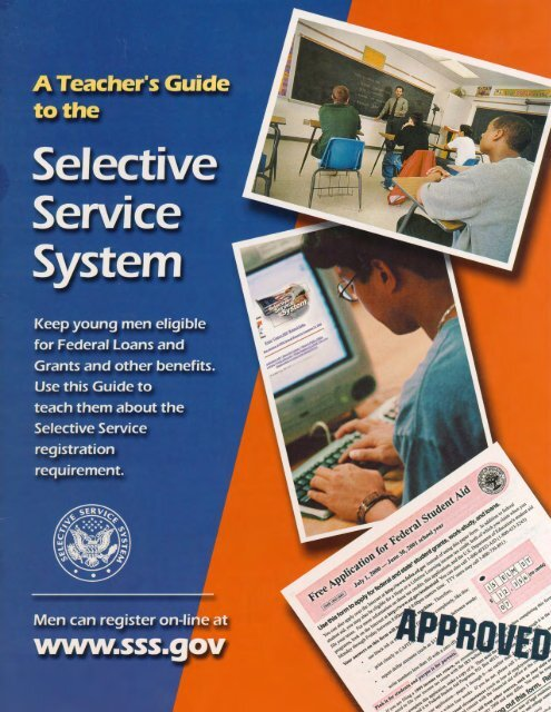 Ways A Man Can Register Selective Service System