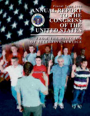 Annual Report to Congress for Fiscal Year 2001 (PDF) - Selective ...