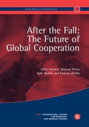 The Future of Global Cooperation - Harvard Kennedy School ...