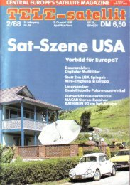 Minimal-Empfang - TELE-satellite International Magazine